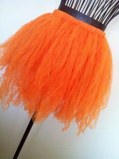 Pumpkin Patch Tutu, Little Girls, Costume, Dress Up, Halloween. $25.00, via Etsy.