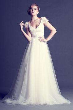 KAREN WILLIS HOLMES - Wedding gown - Dakota gown with Margot skirt