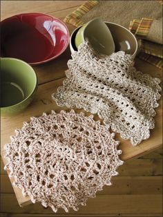 Dishcloth Duo free Crochet dishcloth pattern
