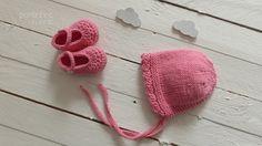 hecho punto del bebé Capo  botines  sistema del por pontinhosmeus