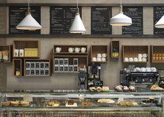 Cornerstone Cafe, London. Charlotte Minty Interior Design