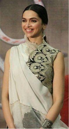 Deepika Indian Bridal Outfits, Indian Bridal Wear, Lakme Fashion Week, India Fashion, Deepika Padukone Saree, King Fashion, Desi Clothes, Indian Couture, Saree Dress