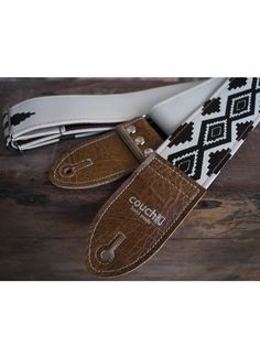 The Byloos Native American Print Guitar Strap