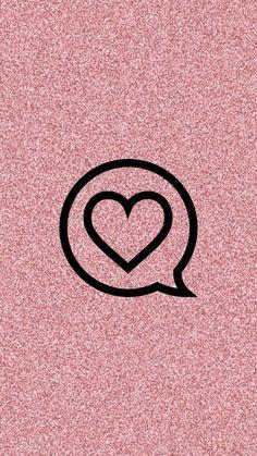 Wallpaper Iphone Love, Emoji Wallpaper, Heart Wallpaper, Tumblr Wallpaper, Instagram Blog, Instagram Design, Instagram Story Ideas, Instagram Background, Insta Icon