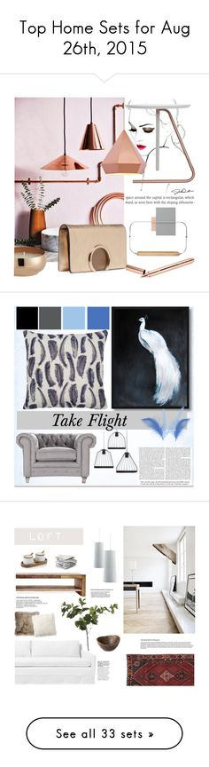 """""""Top Home Sets for Aug 26th, 2015"""" by polyvore ❤ liked on Polyvore featuring interior, interiors, interior design, home, home decor, interior decorating, Zuo, Chloé, CB2 and Tom Dixon"""