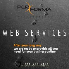 After your long way, we are ready to provide all you need for your business online. Contact us now for a free consultation: 1.866.558.5494 Info@PerformaTechnologies.com #webdesign #webdev #webdevelopment #appdev #pwa #appdesign #businessadvice #florida #B2B #B2C #startup #developer #business #seo #BocaRaton #PompanoBeach #CoralSpring #DeerfieldBeach #FTLauderdale #Plantation #WestPalmBeach Business Advice, Online Business, App Design, Logo Design, Coral Springs, Writing Services, App Development, Seo, Improve Yourself