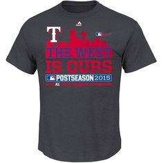 Texas Rangers 2015 AL West Division Champions Locker Room T-Shirt - MLB.com Shop