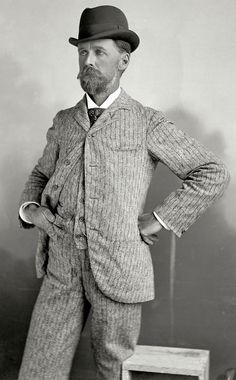 men's suit 1890s