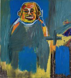 Jean-Michel Basquiat (American, 1960-1988), Bird as Buddha, 1984