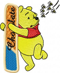 Pooh Alphabet Letter I machine embroidery design. Best free and commercial series Pooh Alphabet machine embroidery designs. All embroidery format and good size. Towel Embroidery, Embroidery Applique, Machine Embroidery Designs, Embroidery Patterns, Sewing Patterns, Winnie The Pooh Honey, Photo Stitch, Flower Alphabet, Disney Designs