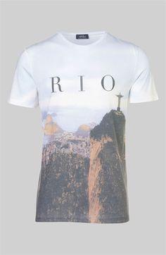 Topman 'Rio Sublimation' Graphic