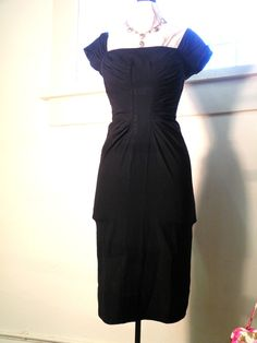 Lily Diamond Original Wiggle dress Black! Marilyn Monroe!  OnlineAuction.com
