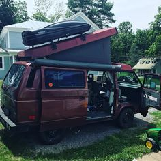 Let the packing for @redwingroots begin. #virginiavanagons #rootsmusic #naturalchimneys #vanagon #vanagon #awesomelyweird #dadventure #momandadventure
