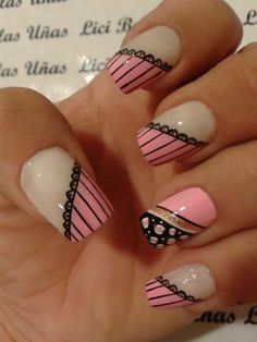 nails Crazy Nail Designs, Nail Polish Designs, Nail Art Designs, Winter Nails, Spring Nails, Crazy Nails, Nail Decorations, Beautiful Nail Art, Nail Arts