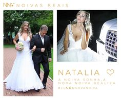 Natalia #eusounovanoiva #noivasreais #vestidosdenoiva #noiva #bride #weddingdress #weddingdresses #casamento