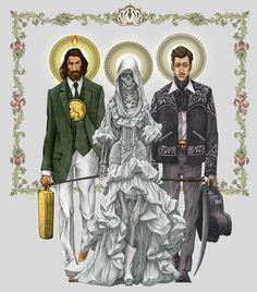 Los santos del narco mezclan el catolicismo y la guerra contra las drogas en Latinoamérica