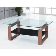 Amazing table to compare to your design project. It's an improbable table design. Take a look at the board and let you inspiring! See more clicking on the image. Wood Slice Coffee Table, Glass Top Coffee Table, Glass Table, Tea Table Design, Coffee Table Wayfair, Wood Glass, Modern Coffee Tables, Cool Style, Shelves