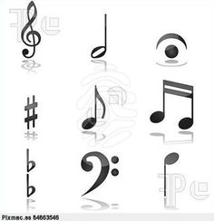 music note punch for fondant - Google Search