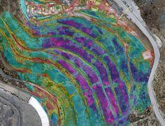 Telerilevamento topo-termografico e monitoraggio con droni della discarica di Scarpino, Liguria, 2016 - Mauro Migliazzi
