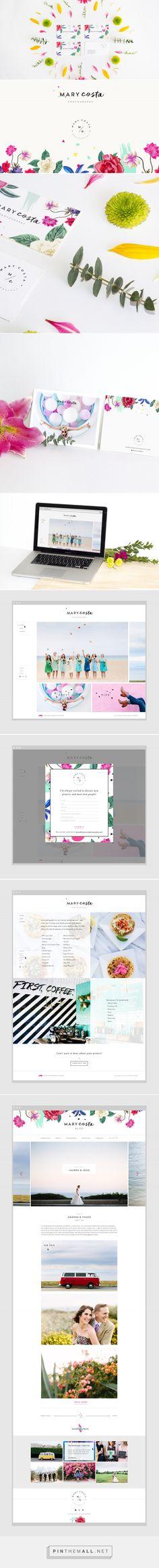 Mary Costa Branding by Kati Forner | Fivestar Branding – Design and Branding Agency & Inspiration Gallery