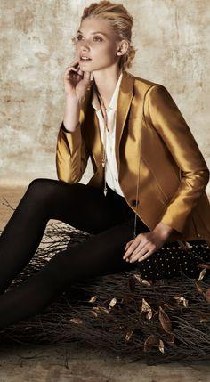 The Perfect Gold Blazer. Shop Club Monaco at #Scarborough Town Centre.