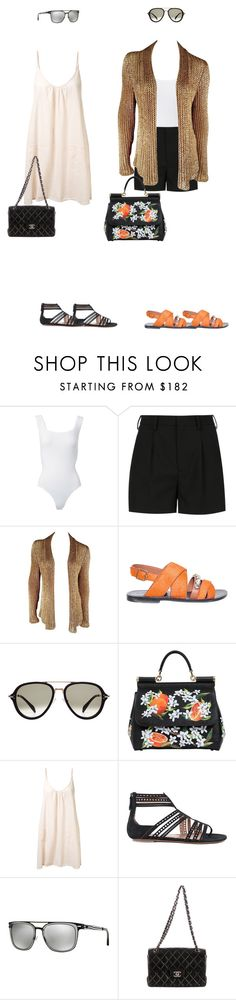 """Geen titel #11757"" by thomasj93 ❤ liked on Polyvore featuring Alaïa, Yves Saint Laurent, Ralph Lauren, Marni, CÉLINE, Dolce&Gabbana, 9seed, Emporio Armani and Chanel"