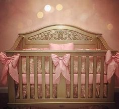 """Dreamland almost complete for this baby girl."" The lifetime crib is looking fabulous! Thanks for sharing Julie."