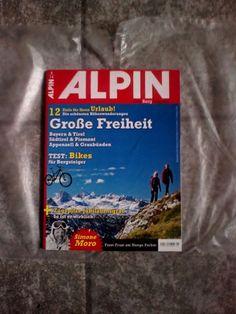 ALPIN!Das Berg Magazin!Ausgabe:  5/14!NEU!