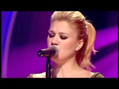 Kelly Clarkson - 'Because of you' (Live)... stop abuse... walk away. NO woman deserves to be abused either emotionally, physically, or mentally.
