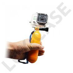 Go pro Floaty Monopod For Gopro floating Bobber + Wrist Strap Mount for sjcam Xiao mi yi Camera accessories Bobber, Gopro Hero 1, Practical Action, Gopro Video, Gopro Accessories, Gopro Photography, Gopro Camera, Selfie Stick, Digital