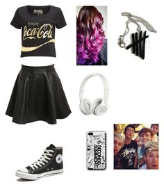 """Untitled #312"" by lukehemmogirl1996 ❤ liked on Polyvore featuring Pilot, Converse and Beats by Dr. Dre"