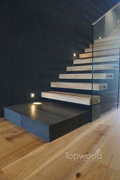 Floating Stairs - Topwood Oak Timber Flooring Perth WA Australia More Floating Stairs - Topwood Oak Timber Flooring Perth WA Australia Floating Stairs - Topwood Oak Timber Flooring Perth WA Australia Stair Railing Kits, Stair Kits, Timber Staircase, Floating Staircase, Marble Stairs, Glass Stairs, Foyer Design, Staircase Design, Stairway Lighting