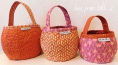 Pumpkin Bags Pattern, £6.