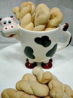 Eternos Prazeres: Rosquinhas de creme de leite