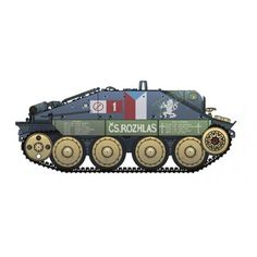 "Academy 1:35 Hetzer ""Prague 1945"" Limited Edition Tank - £27.99"