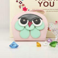 Candy Color Purses Cute Owl 3D Print