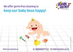 Call us now to avail our specialty cleaning services! #AbCleaningHogiEasy #BabyClean