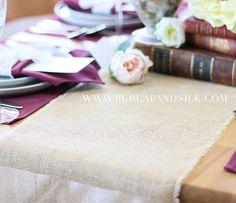 We always find ourselves lovin' the simple sophistication of #rustic hues fused with #Autumn shades.      #weddinginspiration #california #norcal #weddingseason #destinationwedding #travel #bride #weddings #burgundy #wine #fallfashion #styleinspiration #thatsdarling  #weddingday #stylediaries #artofvisuals #weddingphotography #weddingphotographer #burlapandsilk  Explore our thoughtfully-curated premium-grade table linens and table decor http://ift.tt/1Ev7RHa