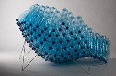 recycled PET bottle chair