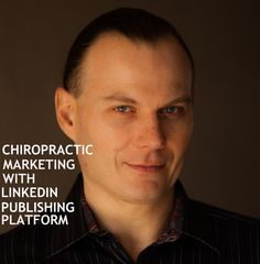Chiropractic Marketing with LinkedIn Publishing Platform. This video is compliment to my blog post which is scheduled for 07/02/15. LinkedIn publishing platform allows you to expose your content not only LinkedIn members but also send those members to your blog. Get additional traffic to your blog and Google will reward you.