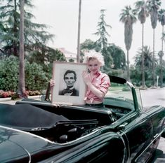 Marilyn Monroe photographed by Milton Green in Los Angeles, 1956.