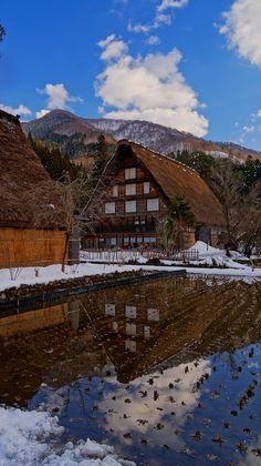 the World Heritage, Shirakawa village, Japan 白川郷