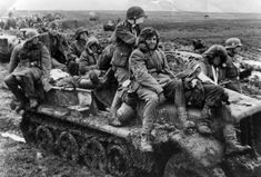 WWII Today — 6 Nov 1942 SS Untersturmfuhrer Taubner's private killing spree.  The miserable conditions in Russia when the rains came – Waffen SS troops from the Totenkopf Division.