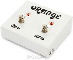 Orange FS-2 Dual Function Footswitch   Sweetwater.com Home Studio Music, Orchestra, Tools, Orange, Instruments