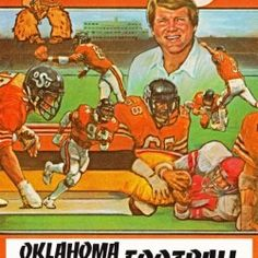 Football Art, Cowboys Football, Vintage Football, Oklahoma State Cowboys, Cool Fathers Day Gifts, Art Prints Online, Dad Day, Sports Gifts, Sports Art