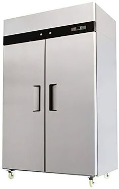 (This is an affiliate pin) Double Stainless Commercial Refrigerator Restaurant