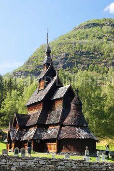 Stave Church, Borgund Norway