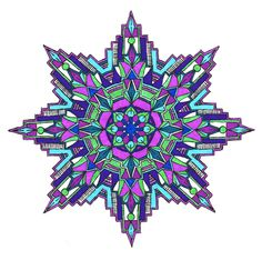 Find This Pin And More On Art COLORING PAGES Kaleidoscopic Design Coloring Book
