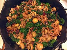 Cooking Caveman with Jeff Nimoy: Paleo Pasta Michelangelo again!