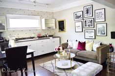 Home and Fabulous: design Decor, Small Spaces, Home, Small Space Design, House Inspiration, Fresh Living Room, Apartment Decor, Yellow Room, Tiny House Inspiration